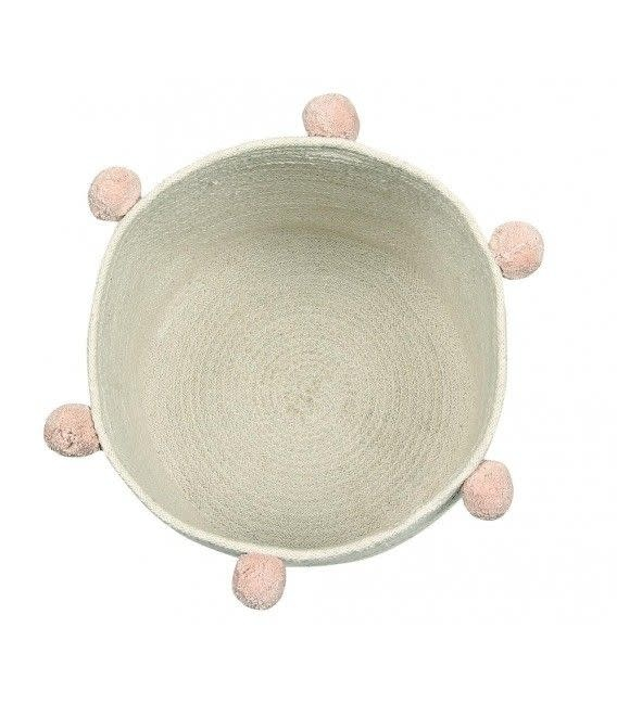 Lorena Canals Basket Bubbly Natural Nude 30 x 30 cm