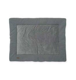 Jollein Boxkleed Brick Velvet Storm Grey 80 x100 cm