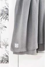 Jollein Deken 75 x 100 cm Basic Knit Stone Grey TOG-0.9