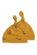 Jollein Muts 0-6M Wild Animals Mustard 2Pack