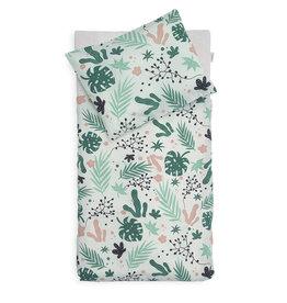 Jollein Duvet Cover Leaves 100x140 cm