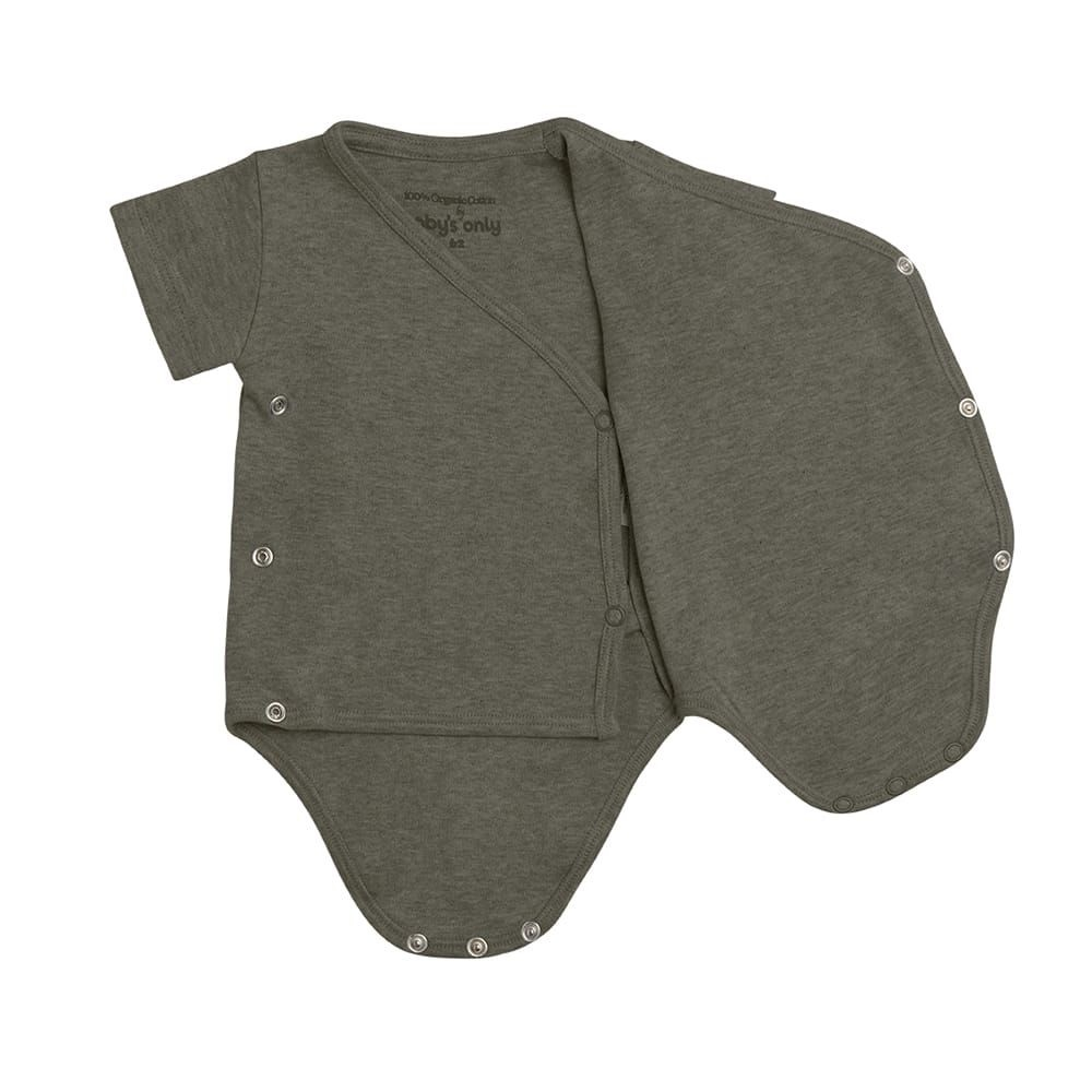Baby's Only Melange Rompertje Khaki