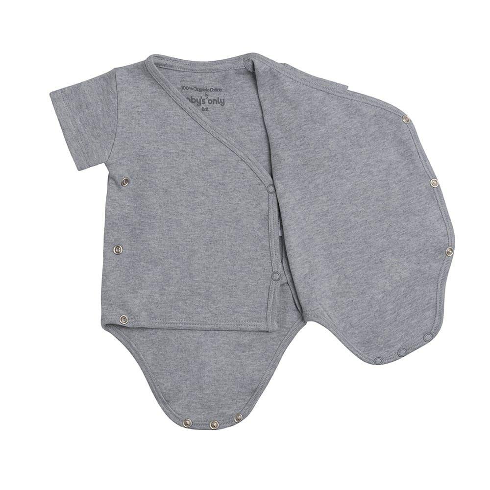 Baby's Only Melange Rompertje Grey