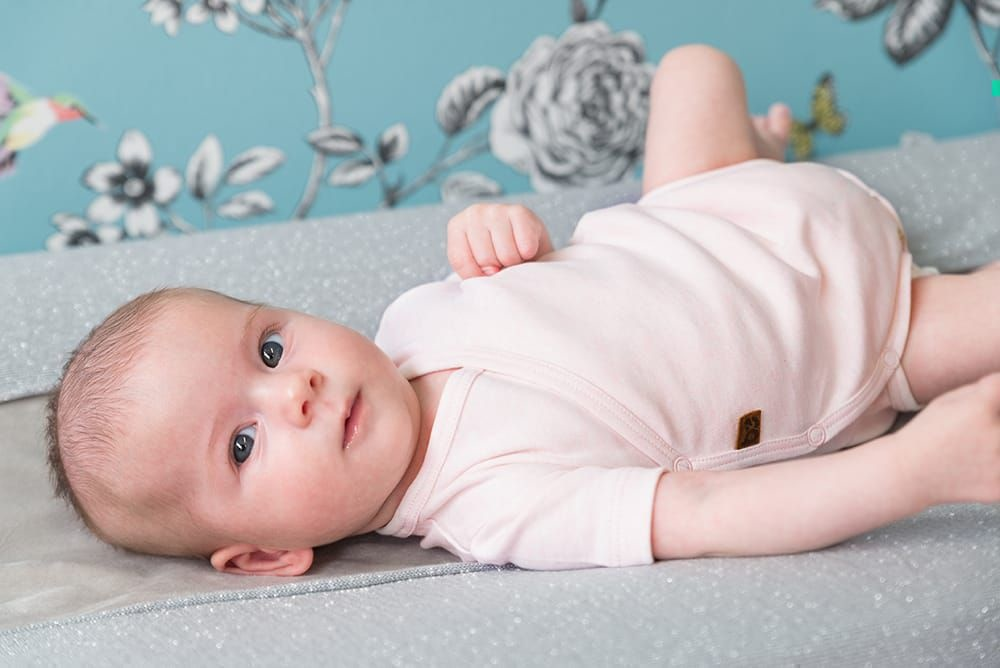 Baby's Only Melange Rompertje Classic Roze