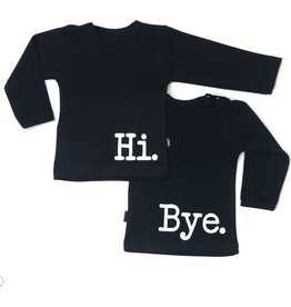 KMDB Tee L/S 'Hi Bye' Black