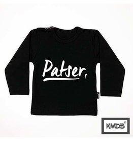 KMDB Tee L/S 'Patser' Black