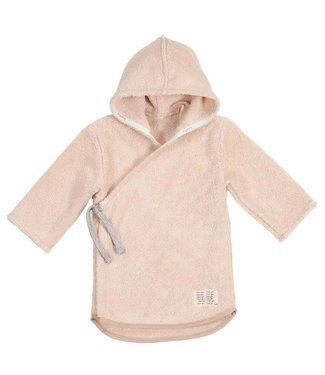Koeka Dijon Badjas Baby Organic Shadow Pink