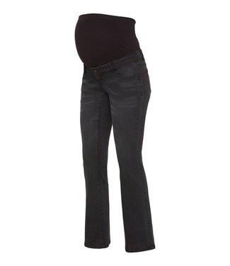 Mamalicious Rio Flare jeans Black