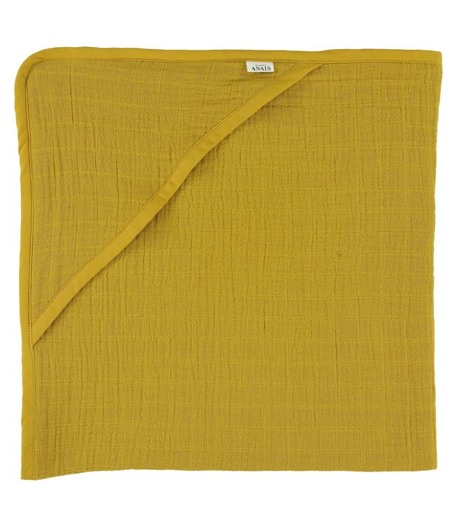 Les Rêves d'Anais Hooded Towel Bliss Mustard