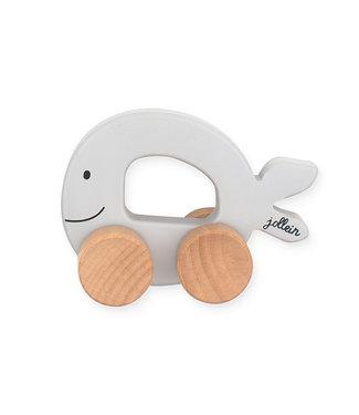 Jollein Toy Car Sea Animal Grey