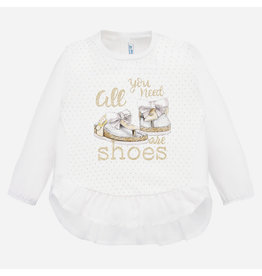 Mayoral Tee L/S Champagne