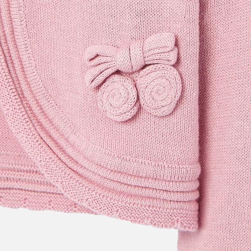 Mayoral Knitting Cardigan Pink