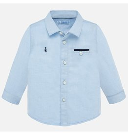 Mayoral L/S Dress Shirt Lightblue
