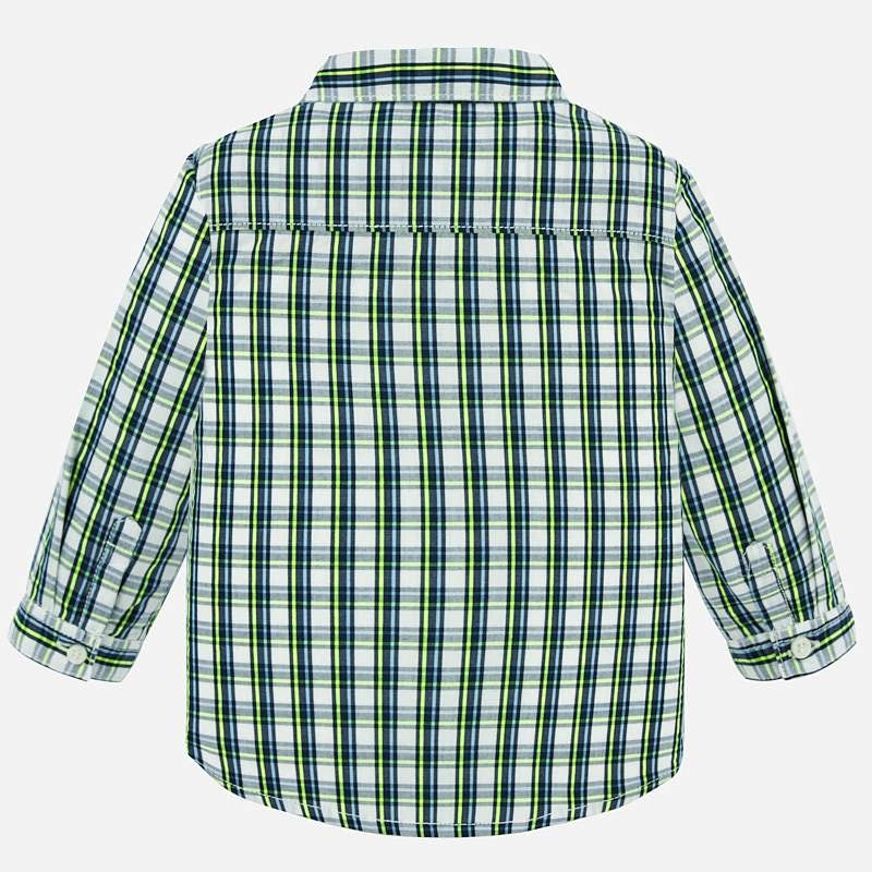 Mayoral L/S Checked Shirt Sapphire
