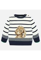 Mayoral Sweater Dog Cream