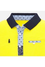 Mayoral Polo S/S Yellow
