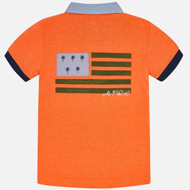 Mayoral Polo S/S Naranja Ne