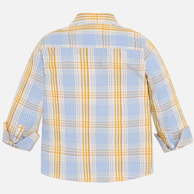 Mayoral L/S Checked Shirt Girasol