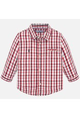 Mayoral L/S Checked Shirt Hibisco