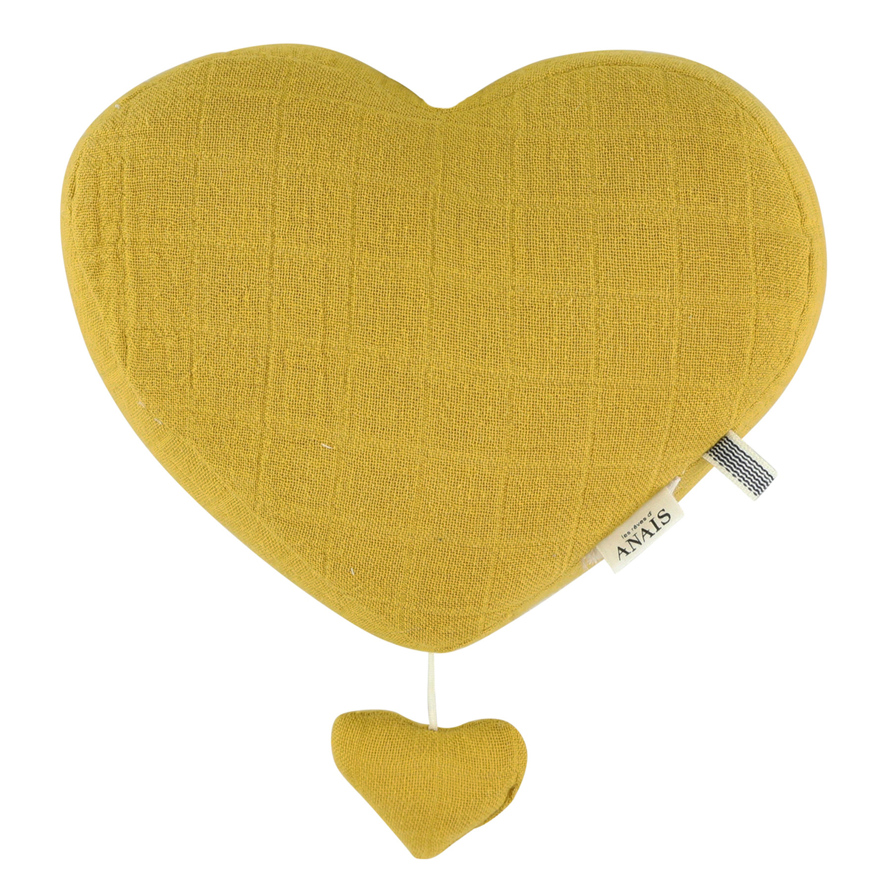 Les Rêves d'Anais Musical Heart Bliss Mustard