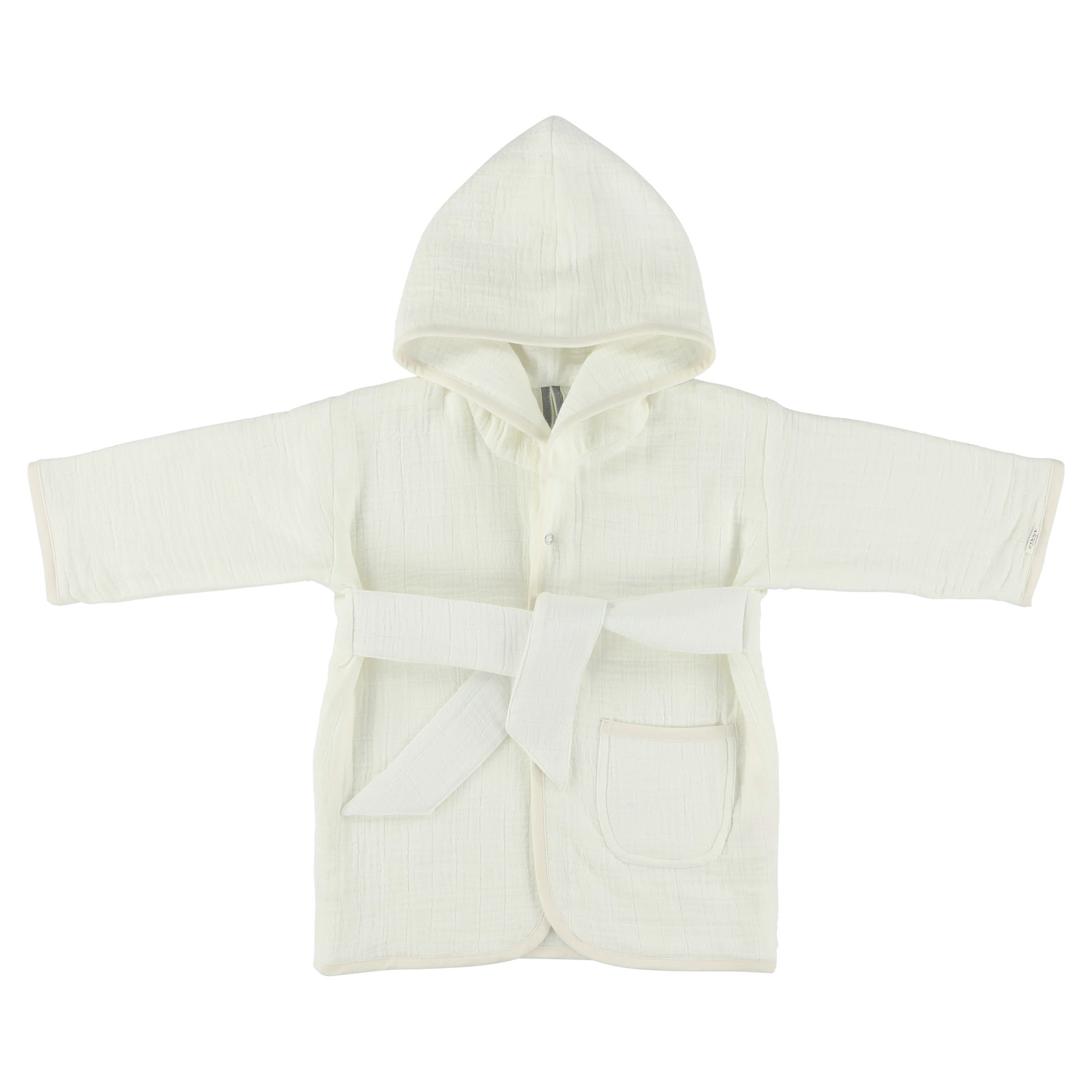 Les Rêves d'Anais Bathrobe 1-2Year Bliss White