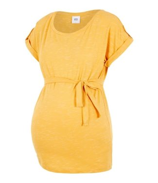 Mamalicious Anthea S/S Jersey Top Golden Apricot