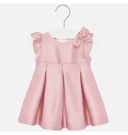Mayoral Jaquard Dress Rosado