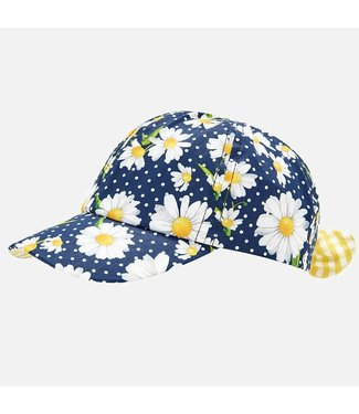 Mayoral Cap Navy Flower