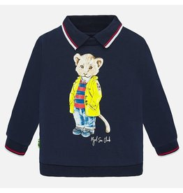 Mayoral Lion Pullover Navy