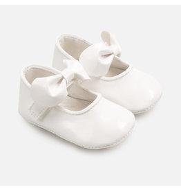 Mayoral Mary Jane Shoes Charol Basic White