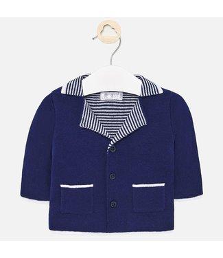 Mayoral Knit Jacket Midnight Blue