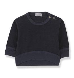 1+InTheFamily Siracusa Sweatshirt Blue Notte