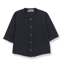 1+InTheFamily Oyon Shirt Blue Notte