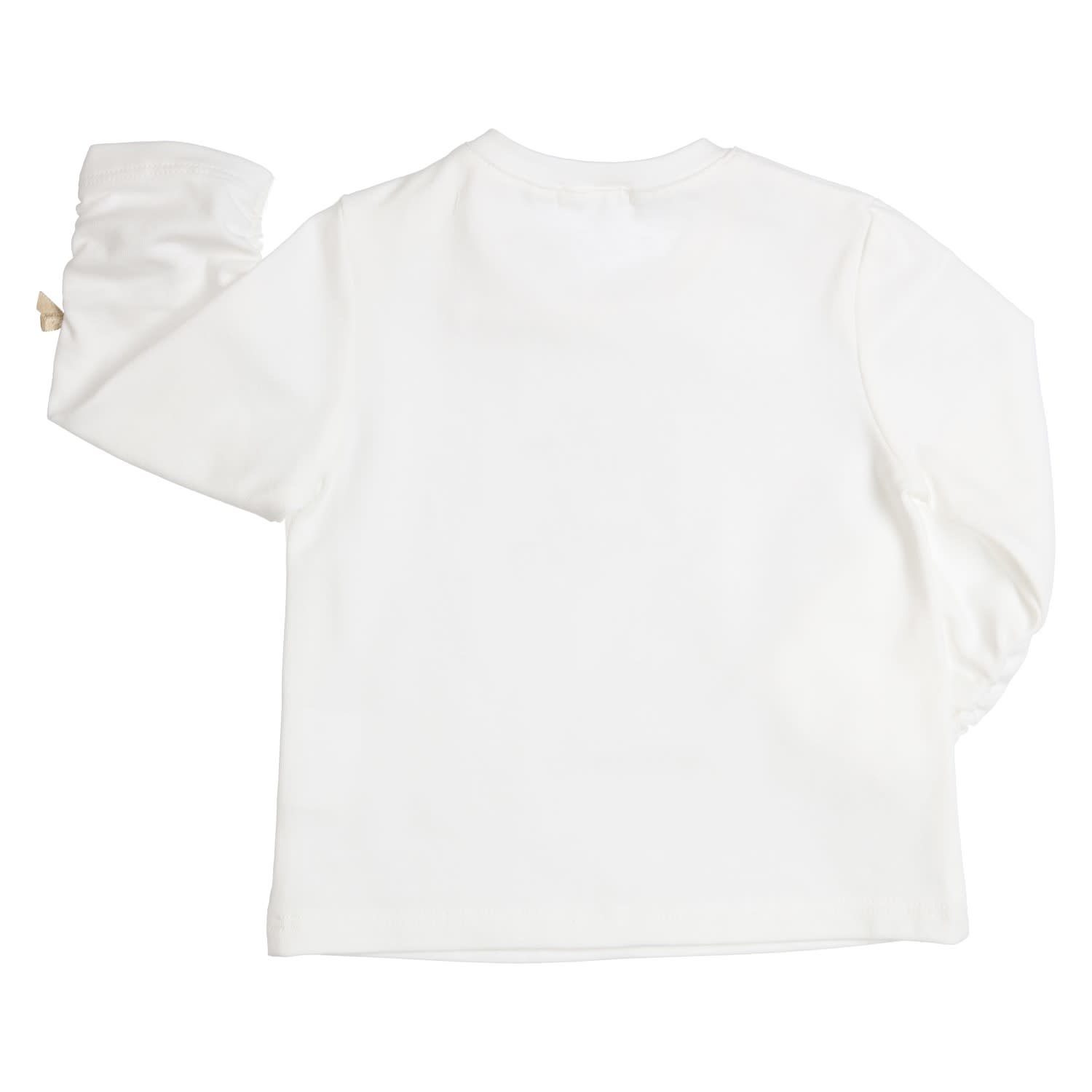 Gymp Tee L/S Off White Hello Lovely