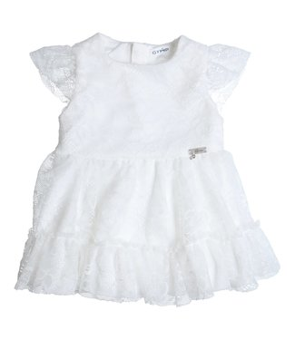 Gymp Lace Dress Off-White