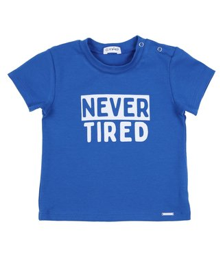 Gymp Tee Blue S/S Never Tired