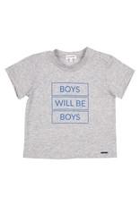 Gymp Tee Grey Boys Will Be Boys