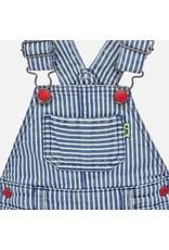 Mayoral Dungaree Stripes Blue