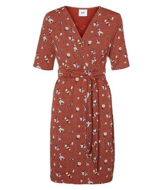 Mamalicious Zana Tess 2/4 Jersey Dress Arabian Spice
