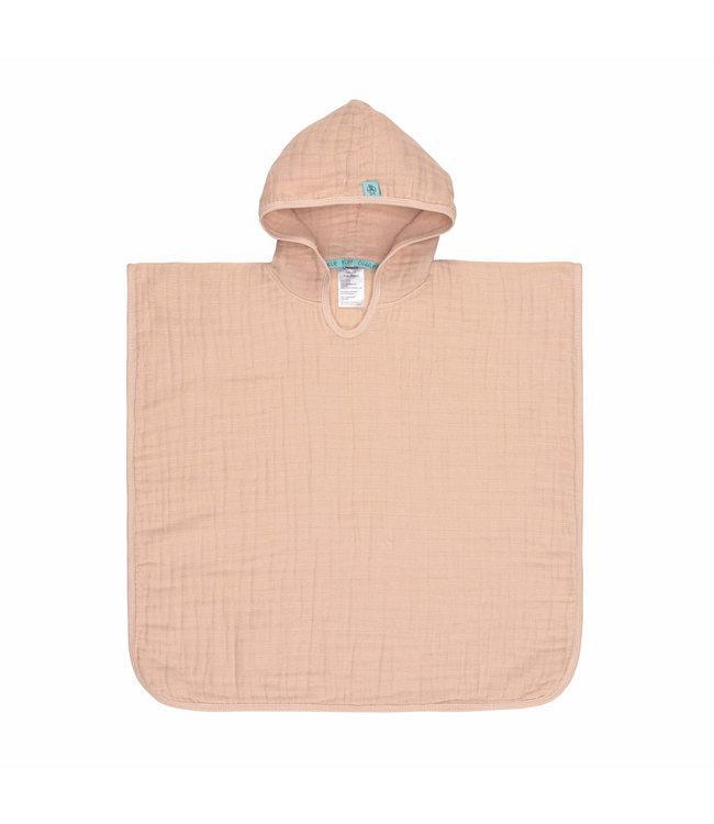 Lassig Muslin Poncho Light Pink