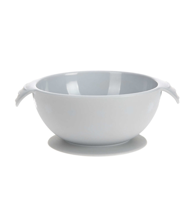 Lassig Bowl With Suction Pad Silicone Grey