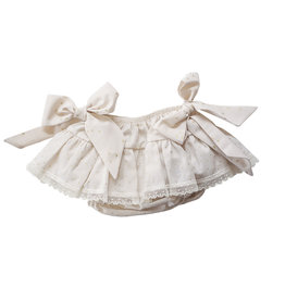 Baby Gi Bloomer With Bows Golden