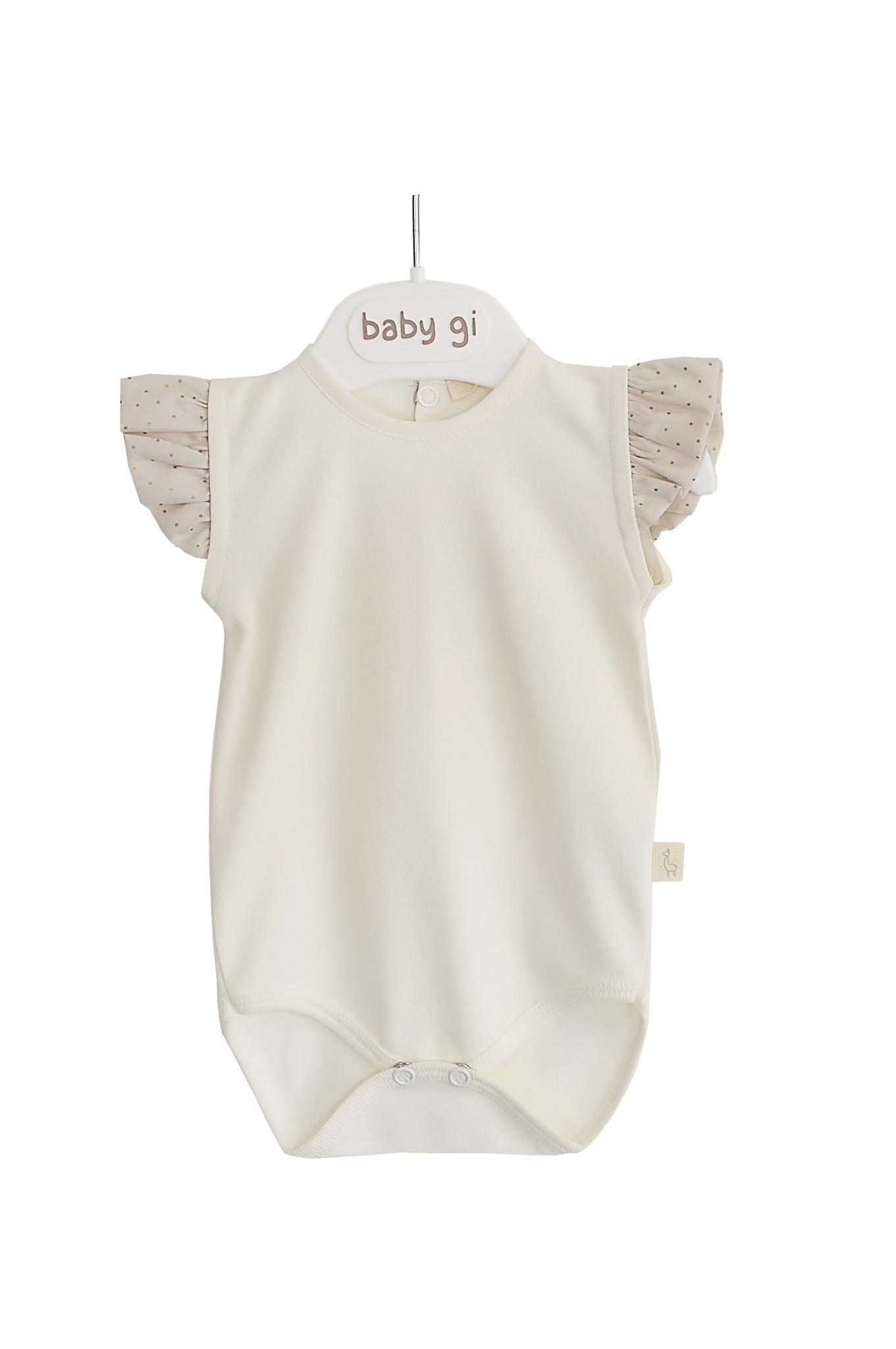 Baby Gi Body Short Angel Sleeves Golden