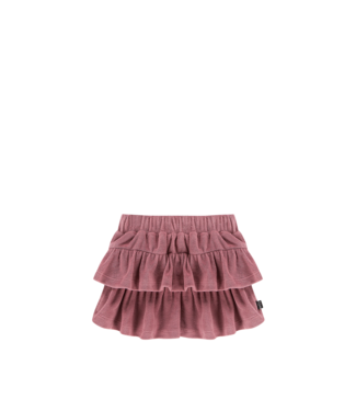 House Of Jamie Ruffled Skirt Orchid