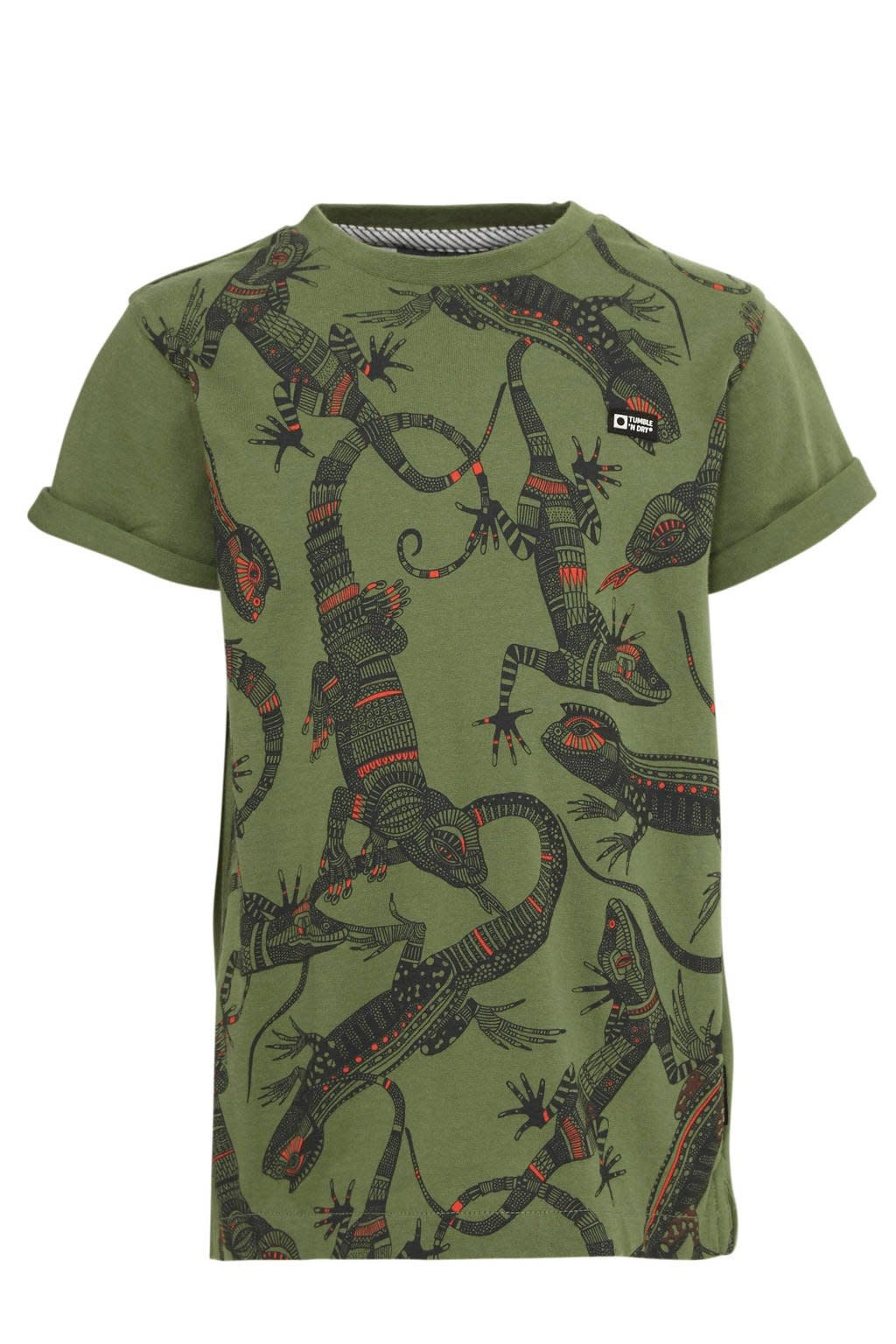Tumble 'n dry Wymer Tee Vineyard Green