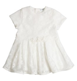 Gymp Dress Lace Off-White