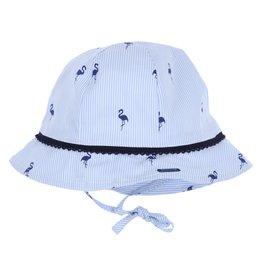 Gymp Sun Hat Blue Flamingo