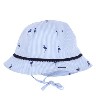 Gymp Sun Hat Blue Flamingo