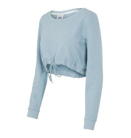 Mamalicious Riba Sweater Zwangerschapstop Ashley Blue Melange