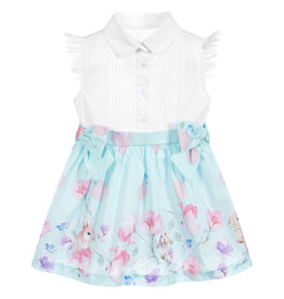 Lapin House Dress Bunny Blue Mint